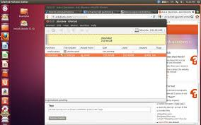 format exfat partition ubuntu partitioning can t format delete locked partition from gparted