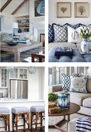 coastal style hamptons style chic in blue hamptons style