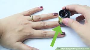 how to apply magnetic nail polish 10 steps with pictures