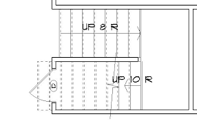 how to show stairs in a floor plan stairs floor plan floor plan stairs lovely 3 captivating staircase