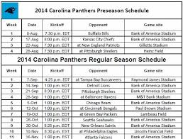 best 25 carolina panthers football schedule ideas on