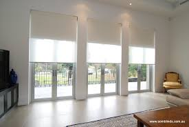 motorised double blinds using somfy motors by som blinds