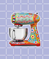 kitchen collections appliances small dolce gabbana smeg kitchen appliance collection picture