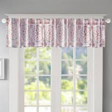 Bed Bath And Beyond Window Valances Buy Pink Window Valances From Bed Bath U0026 Beyond