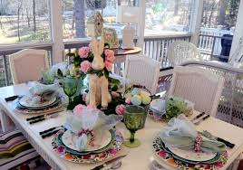 Easter Dining Room Decorating Ideas by 25 Decorating Ideas For Spring Easter Table To Continue Interior