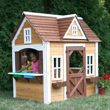 Backyard Playhouse Ideas Outdoor Wooden Playhouse Ideas Loccie Better Homes Gardens