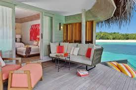 chambre sur pilotis maldives hôtel kanuhura maldives