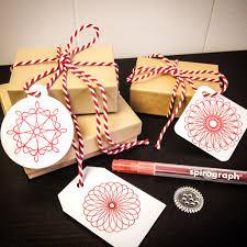 diy spirograph gift tags u2014an easy holiday craft to add a handmade