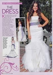 Wedding Dresses 2009 Celebrity Wedding Khloe Kardashian And Lamar Odom Mermaid Wedding