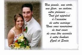 discours remerciement mariage exemple de remerciement cadeau mariage votre heureux photo