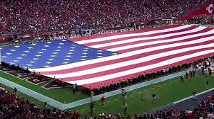 Cardinal Flag National Anthem Arizona Cardinals Vs New Orleans Saints Youtube