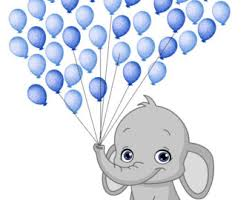 baby shower posters elephant baby shower fingerprint guest book balloon st included