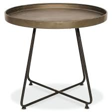 small round outdoor side table small round metal outdoor side table retro metal outdoor side and