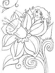 fiori disegni disegni da colorare tema fiori settemuse it