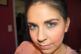 think pink barbie halloween makeup look a pop of colour