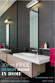 Minosa Bathroom Design Of The Year 2016 Hia Nsw Housing by Minosa Minosa 30 Min In Home Kitchen Or Bathroom Design Consult
