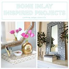 bone inlay inspired projects stencil stories
