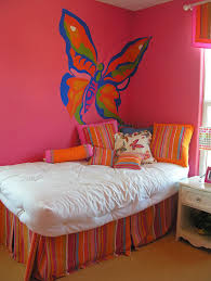 23 little girls bedroom ideas pictures designing idea colorful girls room with large butterfly wall mural