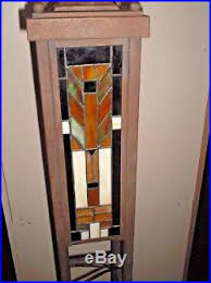 Stained Glass Floor L Kichler Frank Lloyd Wright Mission Style Stained Glass Floor L