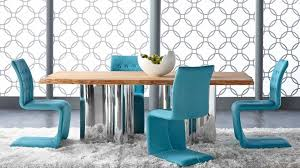 Teal Dining Table Absolute Dining Table By Star International Modern Dining Table