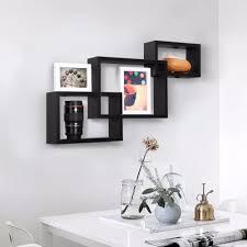 corner cabinet bookcase aliexpress com buy 3 pieces floating wall corner shelf unit wall