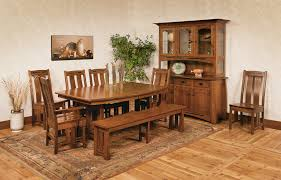 best amish dining room sets kitchen furniture gallery including