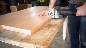 table top glue up the ux4 desk modern builds