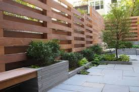 outdoor windbreaker wood fences and privacy screen ideas