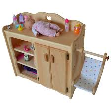 Changing Tables For Baby Dolly S Changing Table Elves Heirloom Quality Wooden Toys