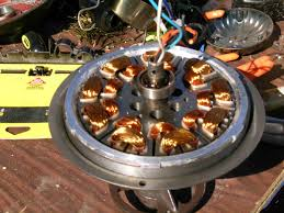 what type of motor is used in a ceiling fan how does a ceiling