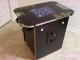 sit down arcade cabinet cocktail arcade ebay