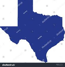 Tx State Map by Texas State Map Stock Vector 528437056 Shutterstock