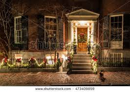 christmas house lights stock images royalty free images u0026 vectors