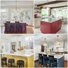 colorful kitchen islands freshdirect why painted kitchen islands are trending from houzz
