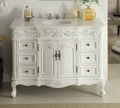White Bathroom Vanities by Inch Beckham Bathroom Sink Vanity Sw 3882w Aw 42