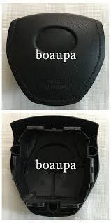 toyota corolla steering wheel cover car srs airbag cover for toyota corolla rav4 driver steering wheel