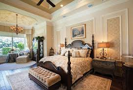 Traditional Master Bedroom - traditional master bedroom with interior wallpaper by the corcoran