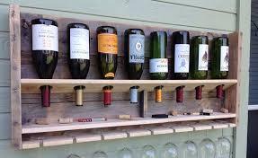 wood wine rack buy man things