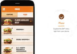 burger king the official burger king app is here
