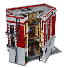 Lego Headquarters Action Figure Insider Lego Reveals Ghostbusters Firehouse