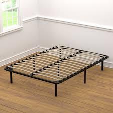 Metal Bed Frame With Wooden Slats Bed Frames Handy Living Wood Slat Frame Metal With Wooden