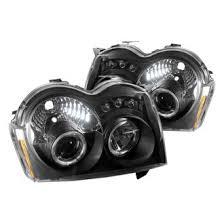 2005 jeep grand fog lights 2005 jeep grand custom factory headlights carid com