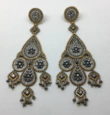 Miguel Ases Earrings Polyvore Miguel Ases Earrings Look Good From Head To Toe Bead Patterns