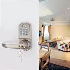 home security smart electronic keyless deadbolt door lock unlock
