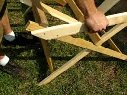 Build A Picnic Table Cheap by Diy Build A Goat Feeder Cheap Easy Youtube