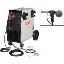 free shipping u2014 hobart ironman 230 flux core mig welder with