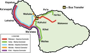 Google Maps Bus Routes by Maui Bus Commuter Service Maui County Hi Official Website