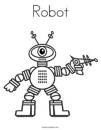robot coloring pages kids eliolera
