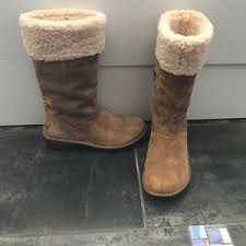ugg womens karyn boot s back zipper ugg boots on poshmark