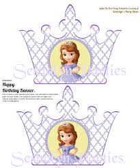 sofia free party printables seshalyn u0027s party ideas